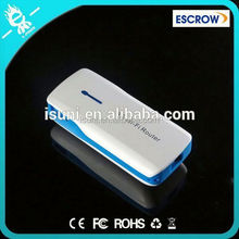 Portable Travel 3G wireless wifi router mobile power for laptop