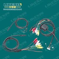 Perfect VGA 15 pin Male to 3 RCA Female Cable