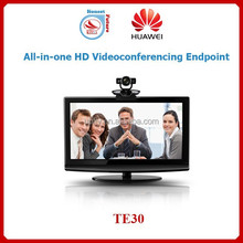 High-Definition video conferencing Huawei TE30 All-in-One endpoint device integrated Camera, microphone, and HD codec