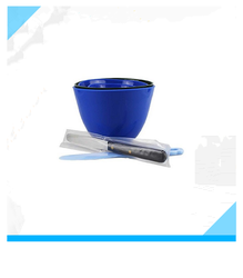 3PCS Lab Flexible Alginate Rubber +3 Spatulas Mixing Colour Bowl
