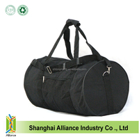 2015 Hot Promote Fashion 600D/PVC travel/duffle bag with Front zipper pocket between handles and and Adjustable shoulder straps