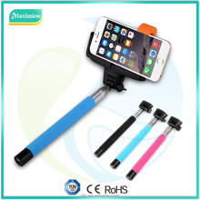 Z07-5 Selfie Stick With Bluetooth Shutter Button , Wireless Monopod From China Supplier , Wireless Self Camera & smartphone Mono