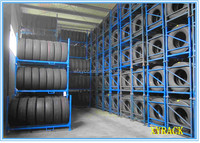 Truck tire rack,heavy duty tire stacking racks china supplier