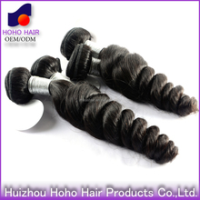 100% malaysian loose wave virgin human hair weaving weft 8-30 inch are available