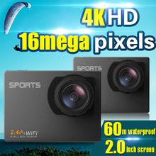 Full hd 1080P waterproof digital video action sport camcorder underwater camera with wifi function