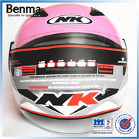 stylish motorcycle helmets with ABS shell high density foam hot sale in Europe