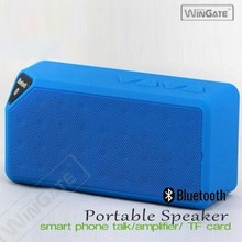 Portable Shockproof Wireless MINI Bluetooth Stereo Speaker For iPhone PC Laptop