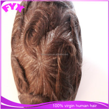 high quality 2015 fashion product men toupee human hair male wigs for white men
