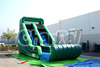 18' Green Inflatable Tall slide for Wet or Dry with Climbing