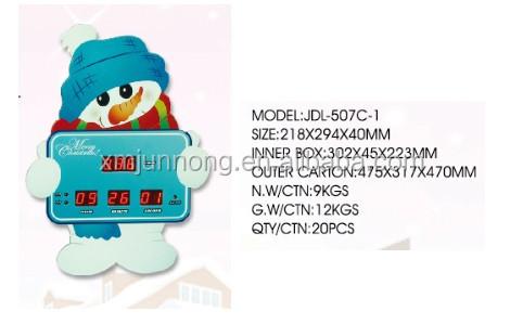 Christmas snowman led digital countdown clock home decor for 36 countdown to christmas snowman yard decoration