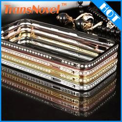new product china suppliers Aluminum diamond case for iphone 5 for iphone 6 for iphone 6 plus