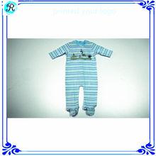 Algodão orgânico do bebê Rompers por atacado roupa do bebê