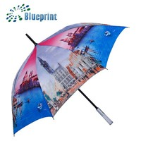 waterproof fabric promotional umbrella standard umbrella size