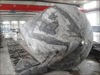 Dia.2.5meters x EL 18meters Marine Airbag for barge launching and vessel dry docking