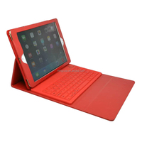 China OEM ODM factory Silicone bluetooth keyboard leather cover for ipad