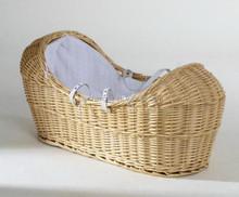 wicker pod basket bassinet for baby