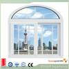 Aluminium exterior tempered glass sliding windows