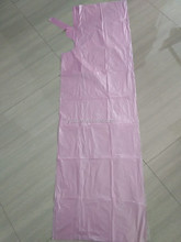 Disposable Cape for haircut pink