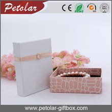 FASHIONAL CUSTOMIZED SPECIAL PAPER JEWELRY PACKAGING BOX