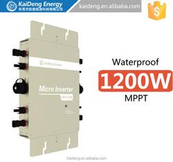 1200W-120V Solar Power System Grid Tie Inverter Solar Micro Inverter with Monitoring
