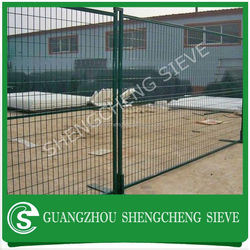 Double Wire Fence Color Coated Welded Wire Mesh Decorative Metal Garden Fence