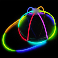 2014 cheap glow in the dark glow stick cap party supplies