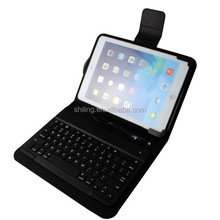 High quality top sale for ipad Air / Air 2 wired keyboard with leather case