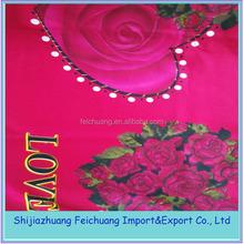Bangladesh bed sheets 50% cotton 50% polyester fabric