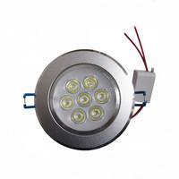 7W led Ceiling Light spotlight AC110V 220V Epistar led lamp beads led down lights home lighting