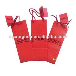 Cheap reusable decorative wine bag
