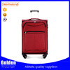 2015 eminent lightweight travelling set business cabin luggage small size trolley on wheels soft luggage bag