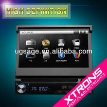 D713- 7' ARM Processor Digital Touch Screen Car DVD Player with Bluetooth/ ipod/ SD/ USB/ DIVX/ TV/ face off