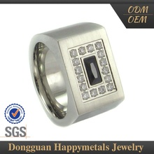 Fashion Style Custom-Made Silver Stone Ring Design 2012