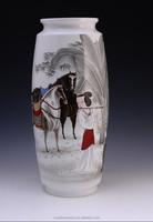 Artist work ancient pattern China Well-known Trademark Hand Painted Underglazed Porcelain vase