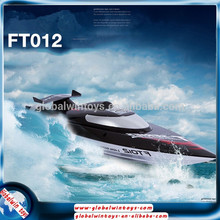 Creative Christmas gift for adults&big children 1/10 big size toy ship 45km/h fast craft boat 2.4g 4ch speed boat for sale