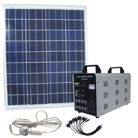 Hot selling AC 60w smart home solar system/intelligent home systems with saving energy