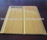 wooden pattern,interior decoration,pvc ceiling plastic panel,middle groove