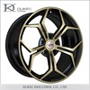Custom made forged 2015 newest 9.5inch aluminum alloy wheel rims for car