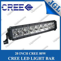 Cree led light Bar 20'' 80W offroad led lighting bar ATV tractor Truck Trailer SUV JEEP Off road Boat driving WORK lights