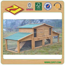 Large Model Wooden Rabbit Hutch with ramp Rabbit Cage DXR031