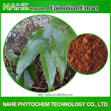 Hot Sale Chinese Herb Medicine for Penis Erection Epimedium P.E.(Icariin and icaritin )