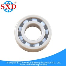 High hardness plastic ball bearing, PEEK material, P0-P6 grade, fast speed, low noise, rock bottom price, good service support