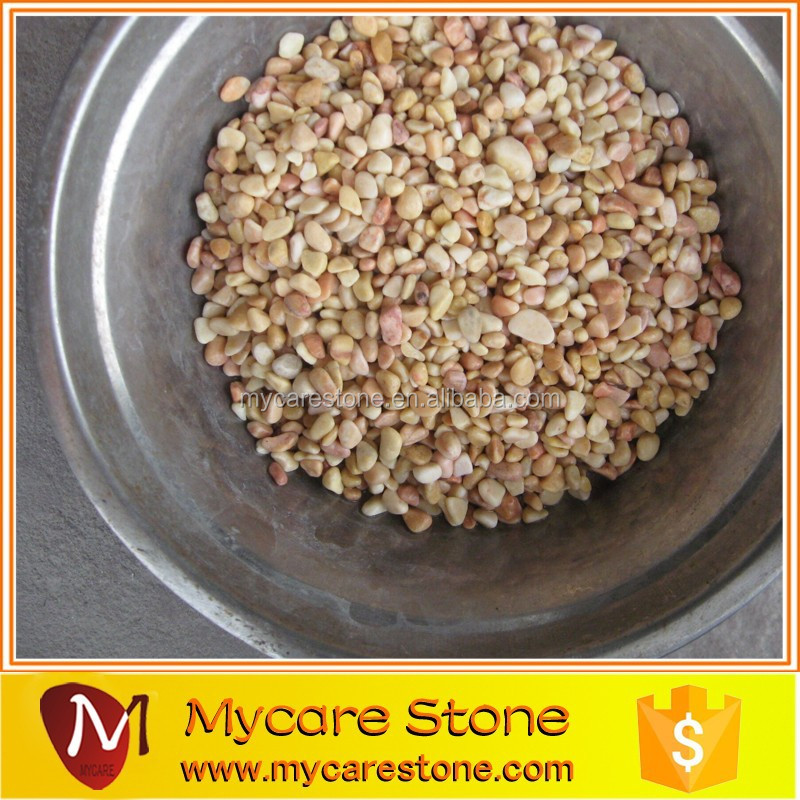 Pink Crushed Stone : Landcaping pink crushed stone for sale