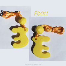 Food Grade Fluorescence Silicone Beads For Teething Jewelry