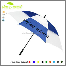 Fashionable Oversize 62-inch large Umbrella Rain Gear ivory golf umbrella