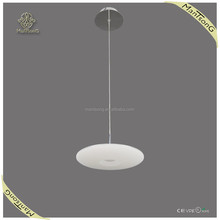 2015 wholesale simple European style modern single glass shade LED pendant light