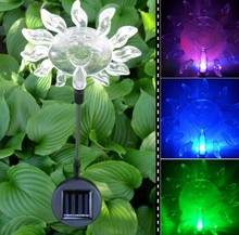 Color Changing Led Light Outdoor Led Solar Lights