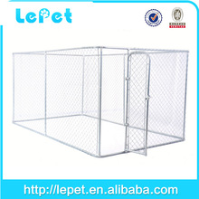 2015 new outdoor large chain link dog kennel cheap dog run kennel