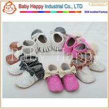 factory suede moccasins baby shoes Australia MOQ 52