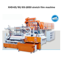 automatic three layer high speed pe stretch film making machinery